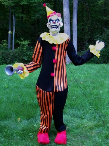 Top Ten Halloween Clown Animatronics