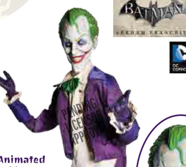Animated Arkham Joker Scrapped from Morbid's 2017 Lineup