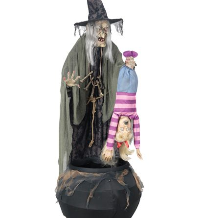 morris costumes officially unveils 2017 animated witch props - Spirit Halloween Animatronics