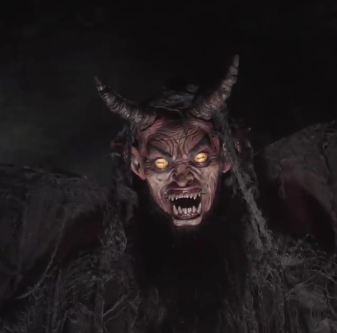 spirit halloween introduces the forest demon animatronic for halloween 2017