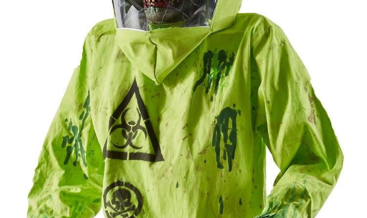 introducing the hazmat zombie animatronic from spirit halloween - Spirit Halloween Animatronics