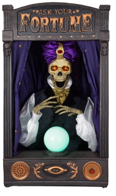 Skeleton Fortune Teller New From Target For Halloween 2017