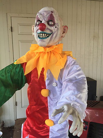 Making a Bad Halloween Prop Scary: eBay Clown