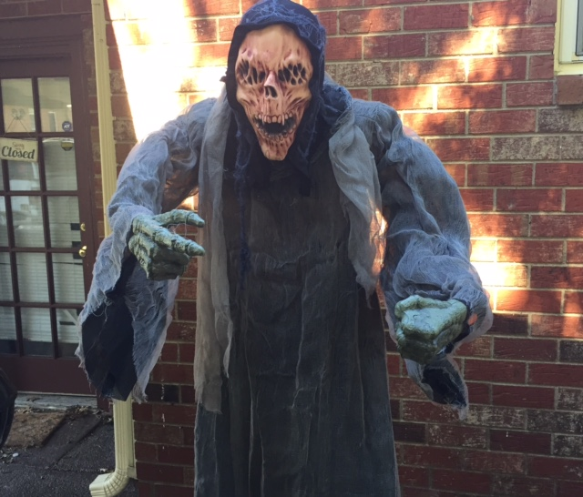 Making a Bad Halloween Prop Scary: CVS Grim Reaper