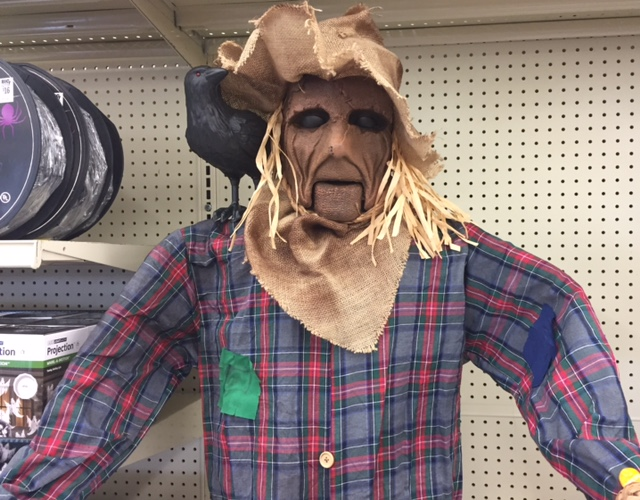 Haunted Scarecrow New For 2017 At Big Lots
