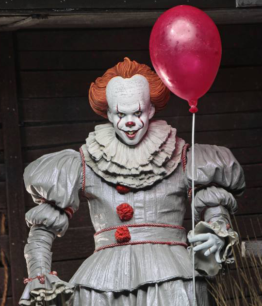 New For 2018: NECA Announces Pennywise Action Figures