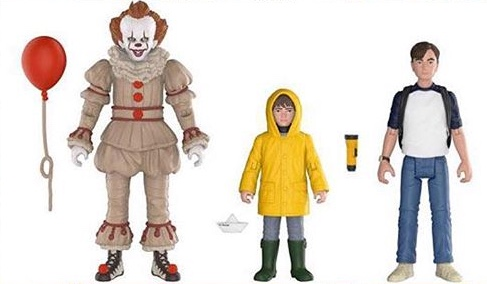 New For 2018: Funko Introduces Pennywise and Losers' Club Action Figures