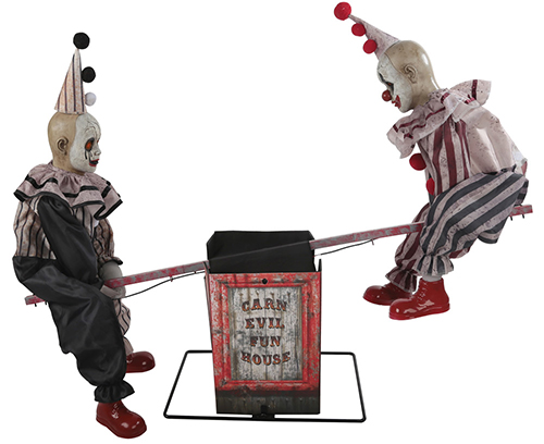 New For 2018: See Saw Clowns Animated Prop