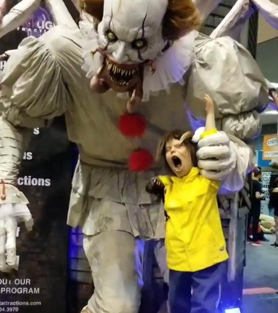 Everyone Is Talking About Unit 70's Pennywise Animatronic From TransWorld