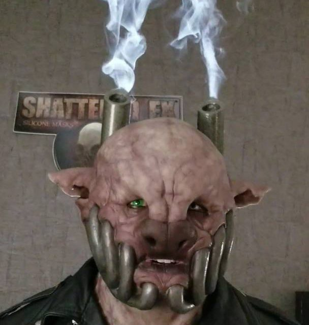 New For 2018: Diesel Mask With Pocket Fogger By Shattered FX