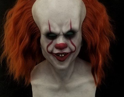 New For 2018: Soulless The Clown Mask from ShatteredFX