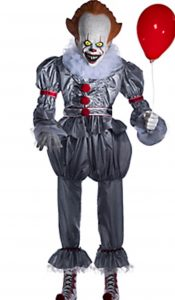 someone was going to make an officially licensed pennywise prop from it i just didnt think that the prop was going to come from party city but it is