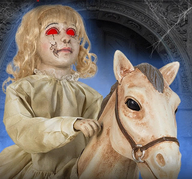 New For 2018: Rocking Horse Dolly From Spirit Halloween
