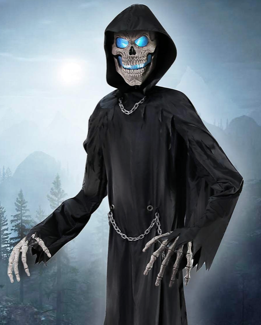 New For 2018: Towering Reaper From Spirit Halloween