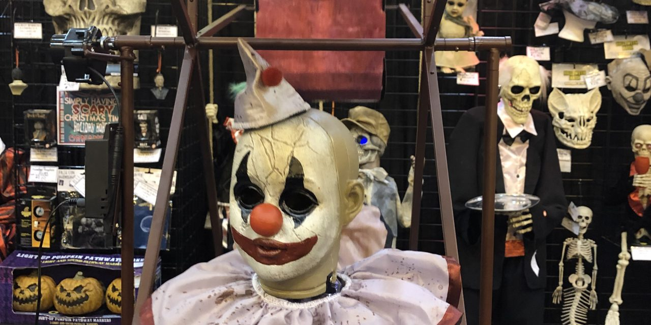 New For 2019: Ferris Wheel Halloween Prop