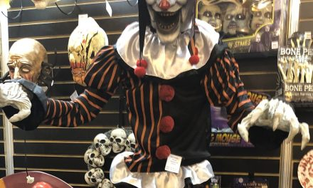New For 2019: Giant Animated Jester Halloween Prop