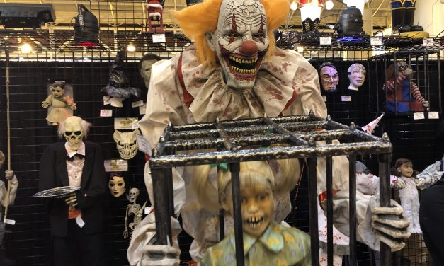 New For 2019: Cagey The Clown Animatronic