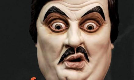 New For 2019: WWE Paul Bearer Mask