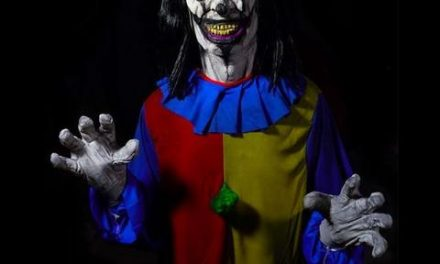 New For 2019: Crazy Clown From The Horror Dome