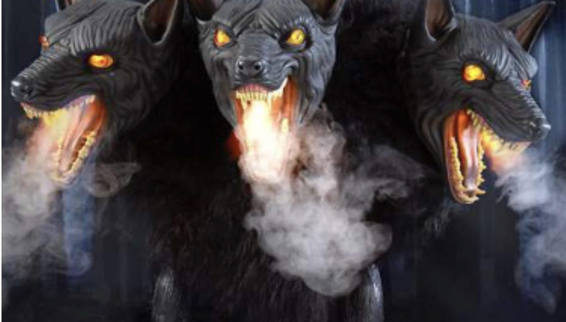 Confirmed: Cerberus Three Headed Dog Animatronic Returning To Spirit Halloween For 2019