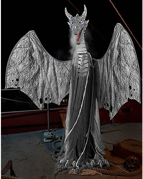 New For 2019: Arctic Dragon From Spirit Halloween