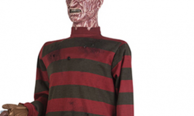 New For 2019: Freddy Krueger Animatronic From Halloween Express