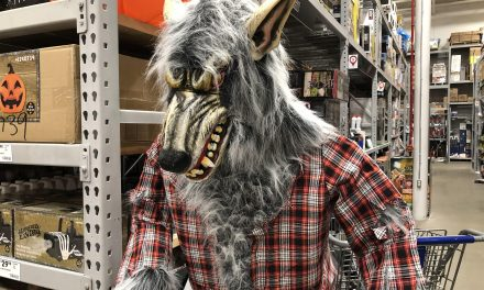 New For 2019: Holiday Living Werewolf From Lowes