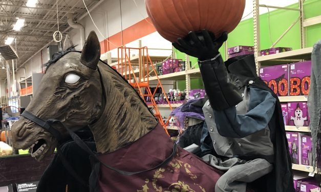New For 2019: Headless Horseman From Home Depot