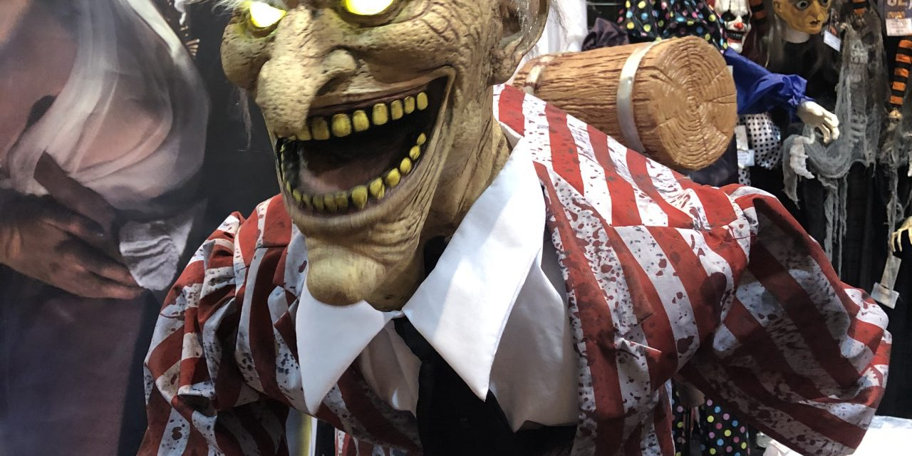 New For 2020: Candy Creeper Animatronic