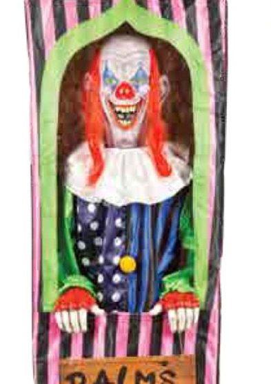 Halloween Fortune Teller Animatronic.Clown Fortune Teller Animatronichalloween Com