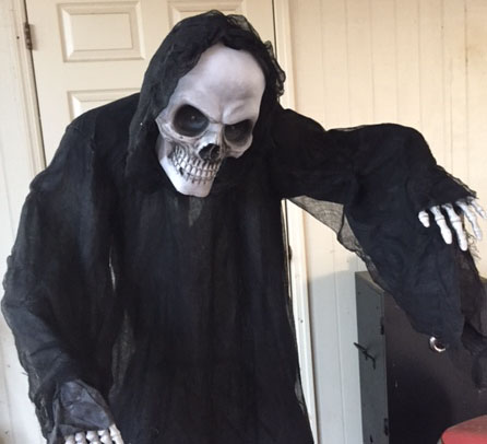 Rite Aid Grim Reaper Animated Prop Review