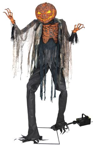 Scorched Scarecrow Animated Halloween Prop Is New For 2017