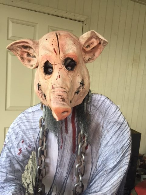 Making Bad Halloween Props Scary: Pigman
