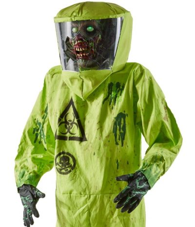 Introducing the Hazmat Zombie Animatronic from Spirit Halloween