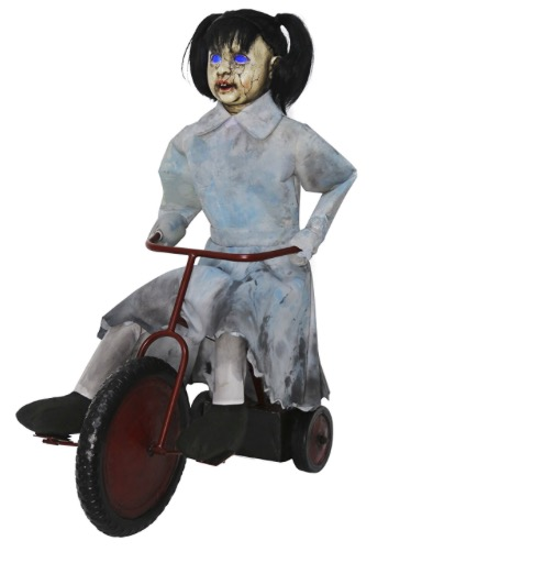 tricycle doll animatronic new from spirit in 2017
