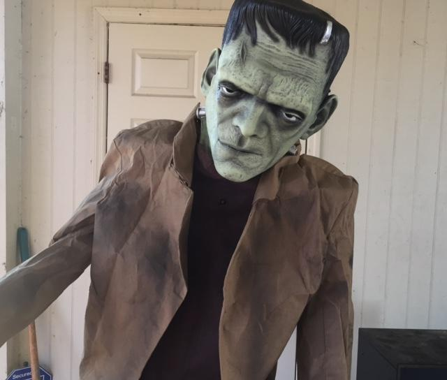 Making a Bad Halloween Prop Scary: Home Accents Frankenstein