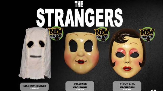 The Strangers: Prey At Night Masks New for 2018