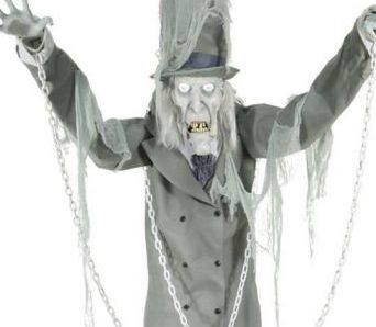 Spirit Halloween Brings Back 7 ft Towering Chained Ghost for 2018