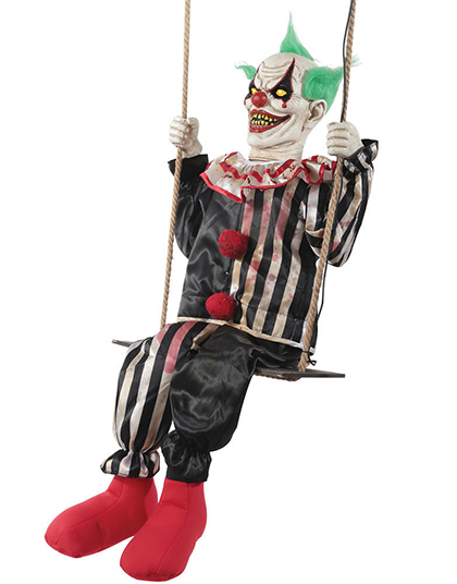 New For 2018: Swinging Chuckles Clown Halloween Prop