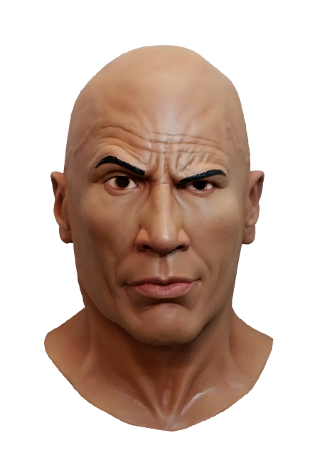 "Trick or Treat Studios Unveils Masks for WWE's Dwayne ""The Rock"" Johnson"