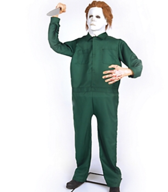 Halloween City Halloween 2020 Michael Myers Mask New For 2018: Michael Myers Animatronic From Party City