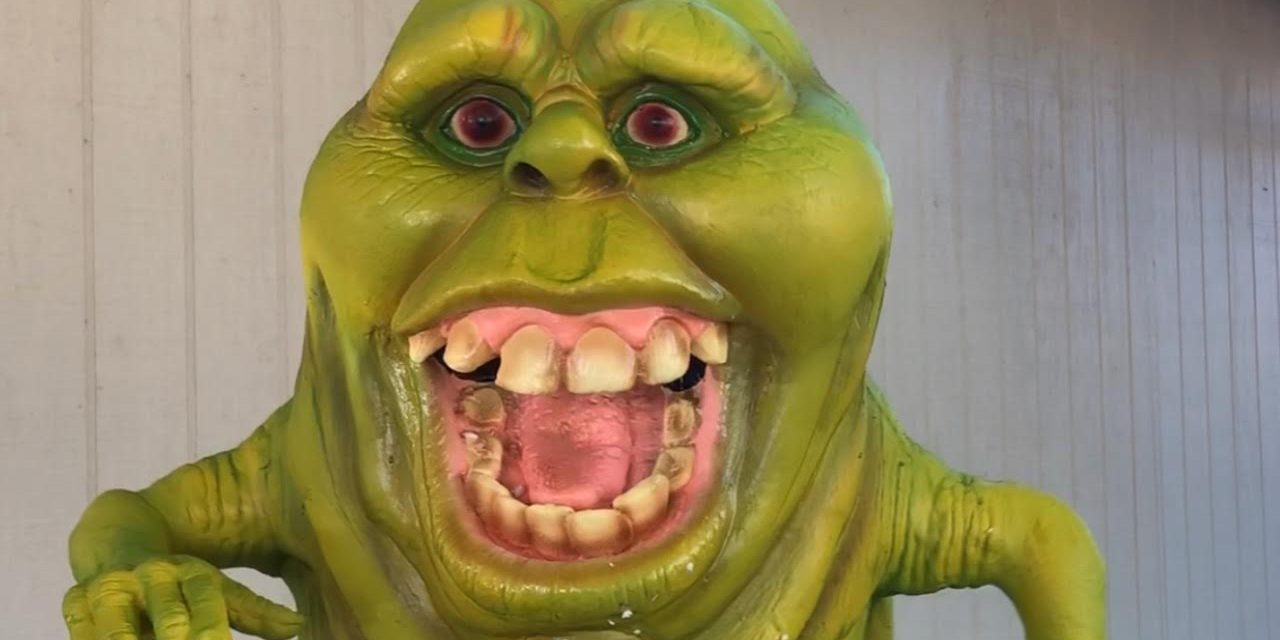 Slimer Halloween Prop Review