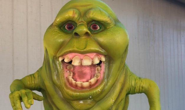 Slimer Halloween Prop Review