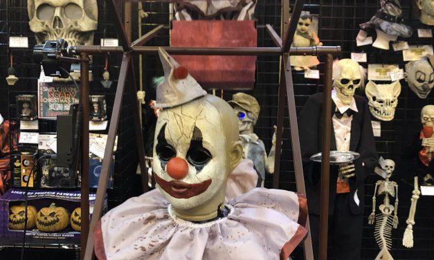 New For 2019: Clown Ferris Wheel Animatronic From Spirit Halloween