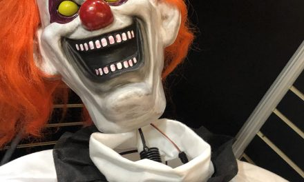 New For 2019: Animated Straight Jacket Clown