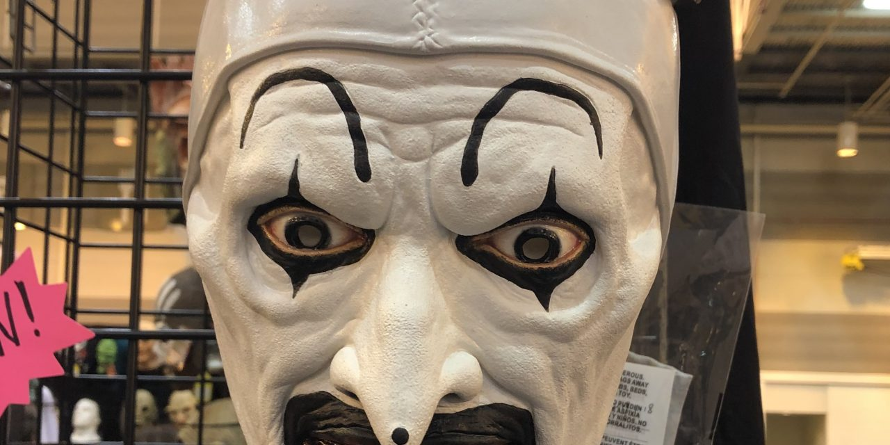 New For 2019: Terrifier Art the Clown Mask and Costume