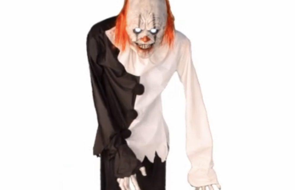 New For 2019: Clown On Stilts Animatronic