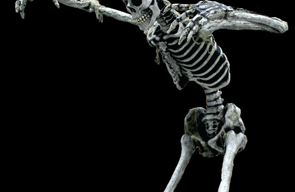 New For 2019: 13′ Posable Skeleton From Scare Factory