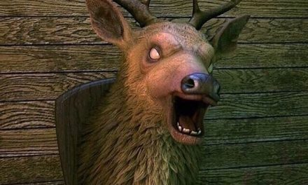 Rumor: Haunted Deer Head Plaque Coming Soon To Spirit Halloween