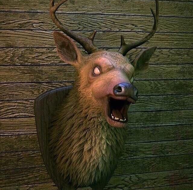 Rumor: Haunted Deer Head Plaque Coming Soon To Spirit Halloween